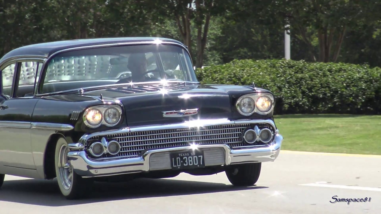 All Chevy 58 chevy bel air : 1958 Chevy BelAir Custom Kruisin' - YouTube