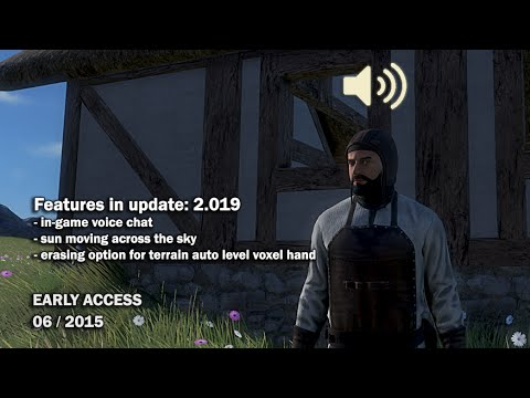 Medieval Engineers - Update 02.019: In-game voice chat ...