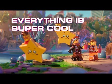 The LEGO Movie 2 - Super Cool - Beck feat. Robyn & The Lonely Island (Official Lyric Video)