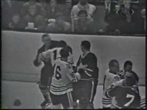 Toronto Vs Chicage Brawl 1963