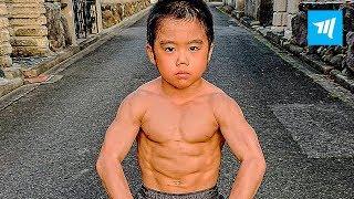 Most Dangerous Kid - Ryusei Imai | Muscle Madness