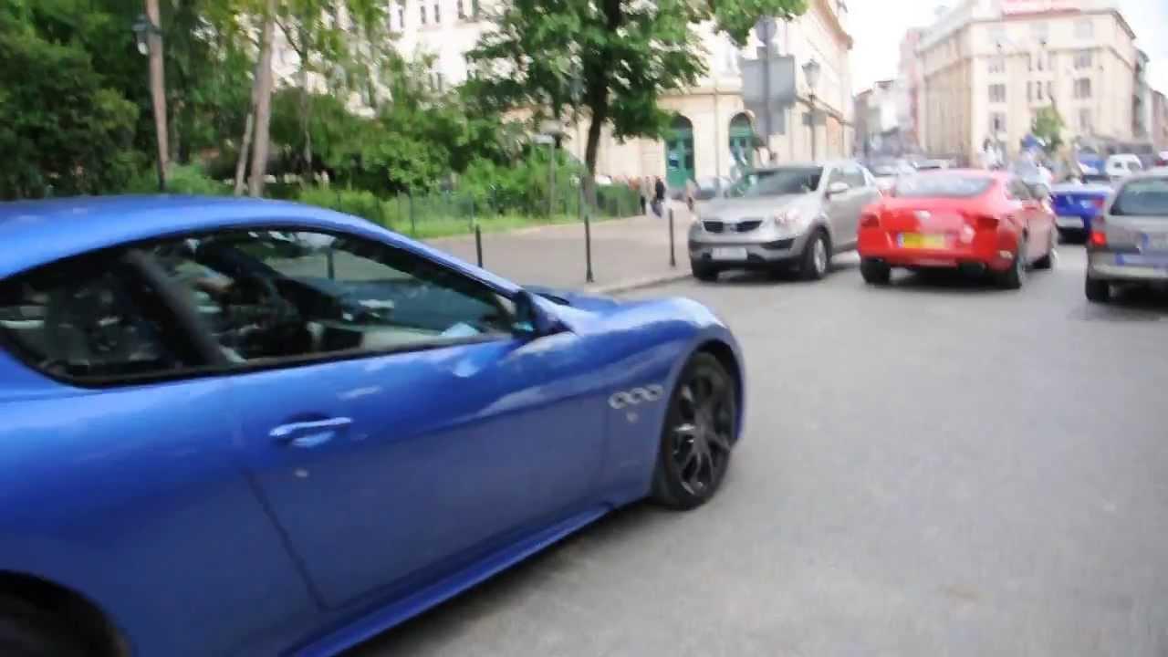 Maserati GranTurismo Sport, Bentley Continental GT Speed, BMW M6 F12 In  Kraków