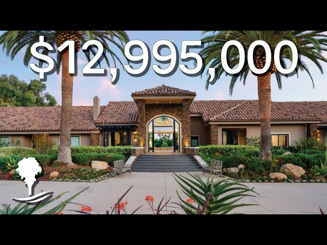 Inside a $12,995,000 RESORT INSPIRED, Four Acre Private Estate in Southern California
