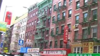 New York City - Video Tour of Chinatown, Manhattan (Chatham Square, MOCA & Columbus Park)
