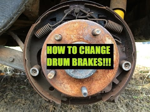 Classic Gbody Garage How To Change Drum Brakes Youtube