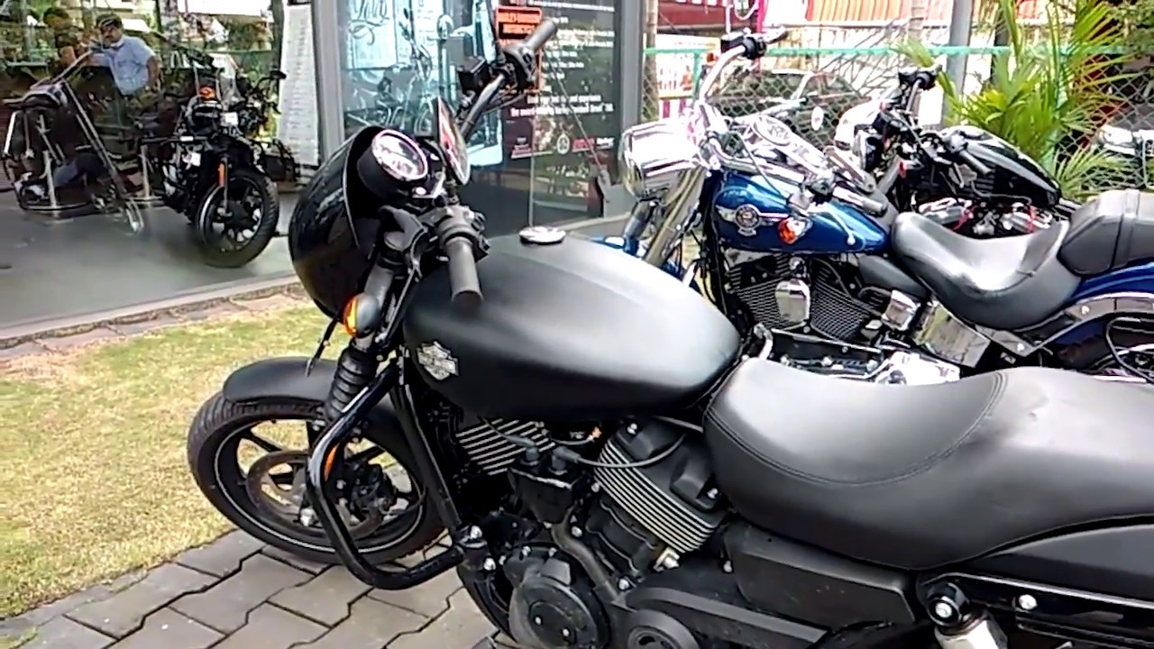 Harley Davidson: HARLEY DAVIDSON STREET 750 FIRST RIDE REVIEW AND A WHEEL