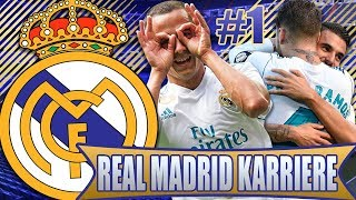 FIFA 18 HYPE: REAL MADRID KARRIEREMODUS LIVE #1