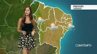 Previsão Nordeste - Ar mais seco na região