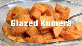 Glazed Kumera Easy Sides Vegetarian Dish Video Recipe Cheekyricho,