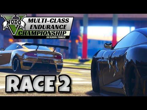 GTA 5 - Multi Class Endurance Championship: Sports (RACE 2)