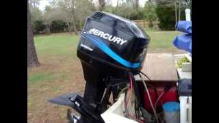 Mercury 90hp boat starting problems