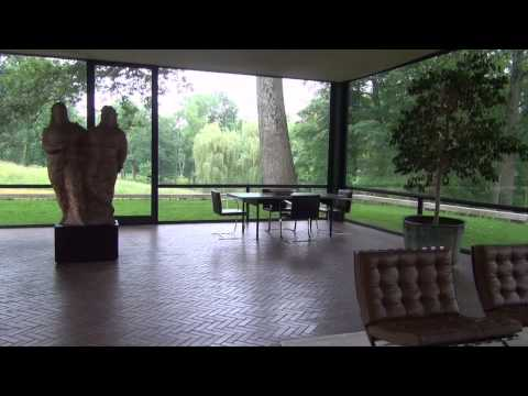 Remodelista visit to The Philip Johnson Glasshouse