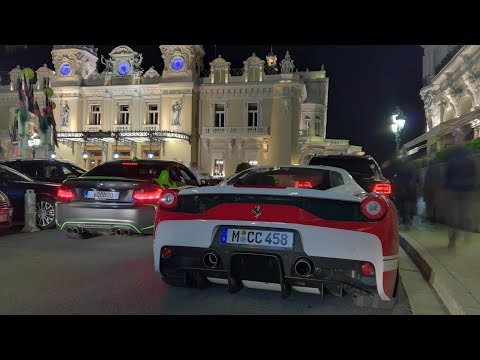 Top Marques Monaco - 10: AGERA R, Veyron, 2x Carrera GT, 2x 918 Spyder...HD