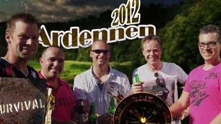 Ardennen met Arjan, Patrick, Dennis, Michel en Barry op camping BENELUX in La Roche