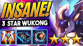 3 STAR WUKONG IS BANANAS! - TFT GALAXIES | Teamfight Tactics Set 3 | League of Legends Auto Chess