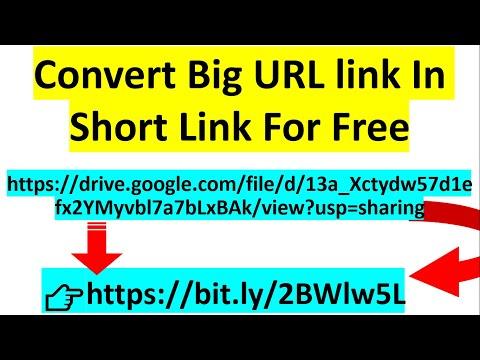 Convert big url link into short link | short link generator
