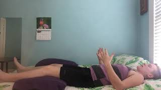 Video 2 of 4: Gentle Back and Hip Stretching/Self-Massage/Relaxation FROM BED