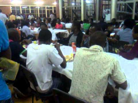 Dinner at harare polytechnic with the congolese