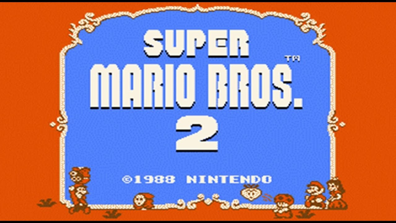 super mario bros 2 usa mario madness nes hd complete. Black Bedroom Furniture Sets. Home Design Ideas