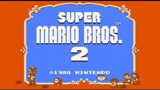 Super Mario Bros. 2 USA - Mario Madness (NES) HD Complete Walkthrough
