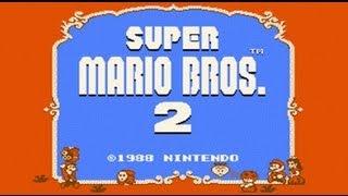 Super Mario Bros. 2 USA - Mario Madness (NES) HD Complete Walkthrough