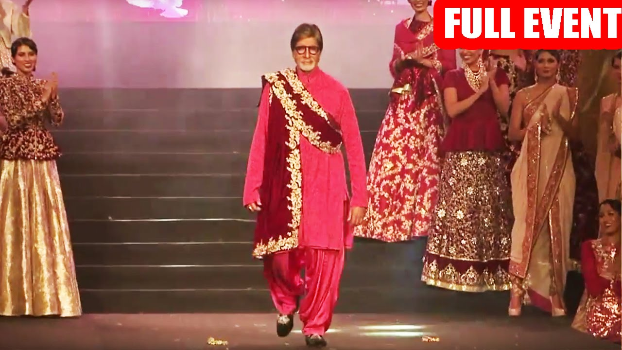 Vikram Phadnis 25th Anniversary Grand Fashion Show 2016 Red Carpet Full Event Youtube