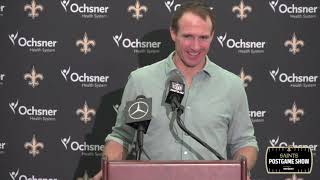 "Drew Brees postgame: ""Dome was as loud as I've heard it"" 