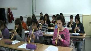 """""""Mamma mia"""" (flauta 1r ESO)"""