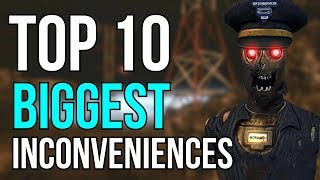 Top 10 Inconveniences (COD ZOMBIES)