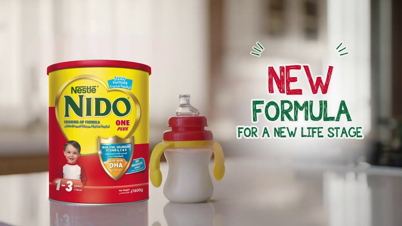 Download The NEW NIDO ONE PLUS Is Here. A New Formula For A New Life Stage.