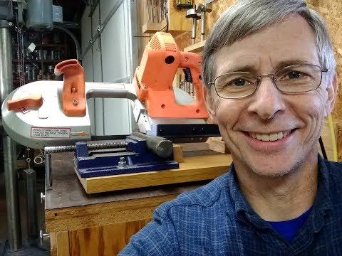 Portable Bandsaw Cutoff Saw Modification