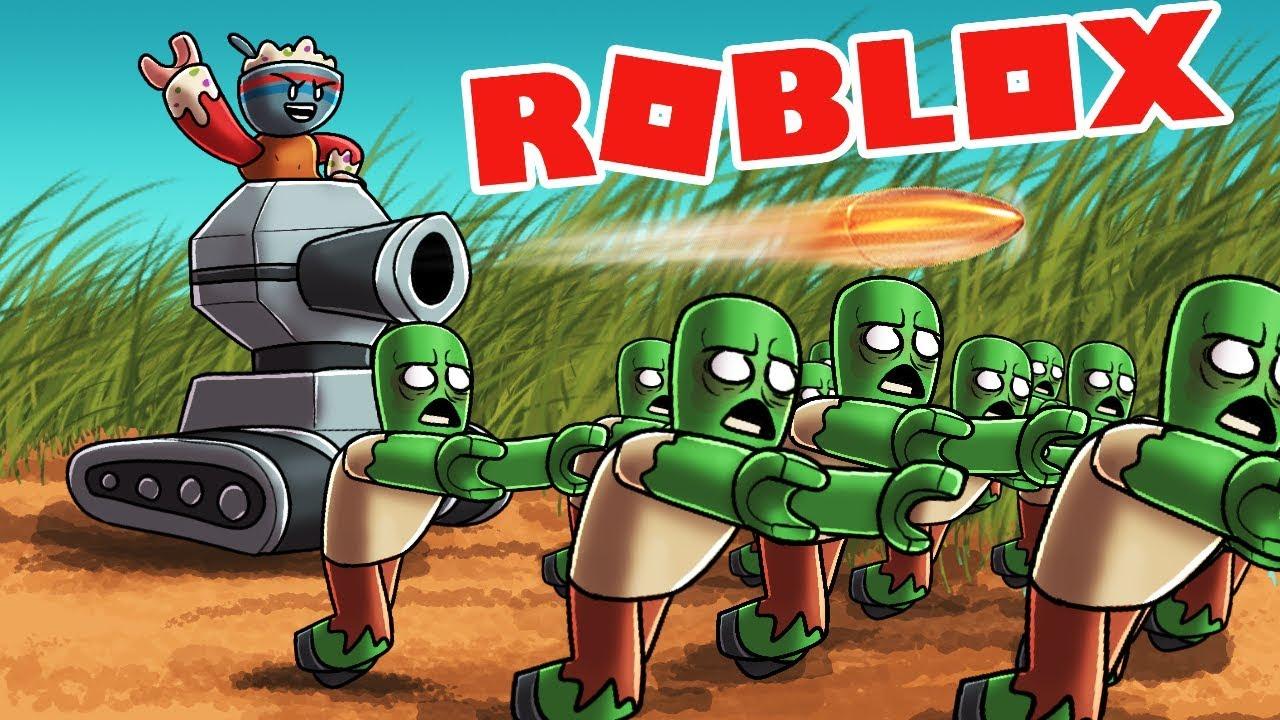 Roblox - TANKS + NOOB = EASY WIN! (Roblox Tower Battles) - игровое