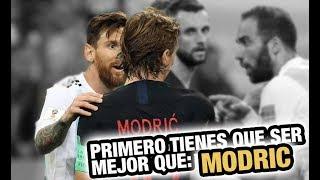 Por qué Messi no gana nada con Argentina – Análisis Argentina vs Croacia 0-3 Mundial Rusia 2018
