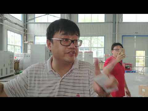 China electric and solar cars students visit to factory: Part 1