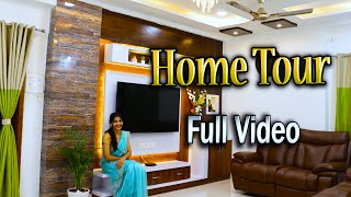 My Home Tour With Details🤩FULL HOME TOUR VIDEO🤩మా సొంత ఇల్లు చూపిస్తానురండి🤗2BHK Interior Ideas