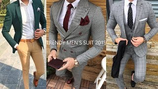 Best men's suit 2019-2020 | Men's suit Fashion Lookbook | Formal trends | SMART OUTFIT