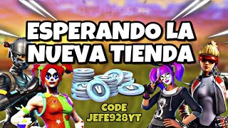 Waiting for the new store August 22 - Fortnite - Jefe928 - code JEFE928YT