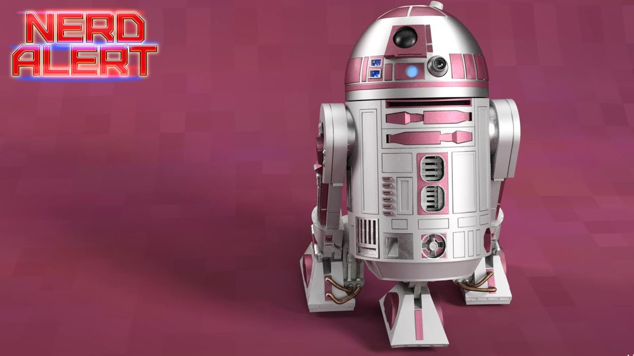 How The Sweet Pink R2 Tribute Unit Became Star Wars Canon Youtube