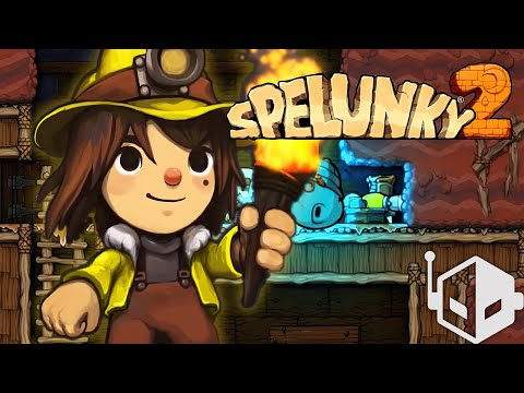 Spelunky 2 Gameplay [PS4]