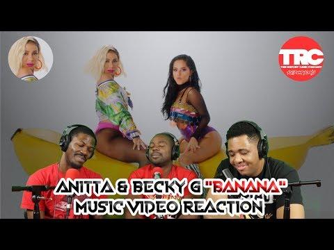 """Anitta & Becky G """"Banana"""" Music Video Reaction"""