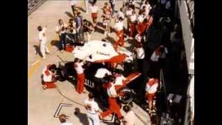 Olivetti in der Formel 1  Brabham - BMW Riccardo Patrese - Derek Warwick -