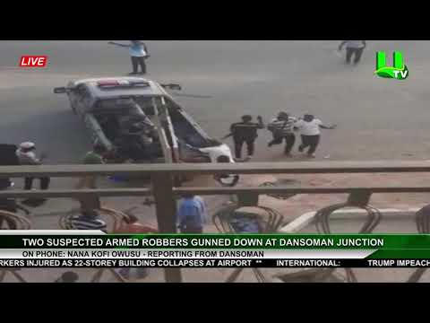 Two Suspected Armed Robbers Gunned Down At Dansoman Junction