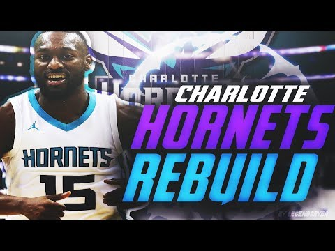 KEMBA WALKER DOMINATES THE LEAGUE! REBUILDING THE CHARLOTTE HORNETS! NBA 2K18