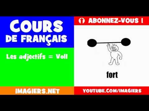 เรียนรู้ภาษาฝรั่งเศส = คำคุณศัพท์ # 1