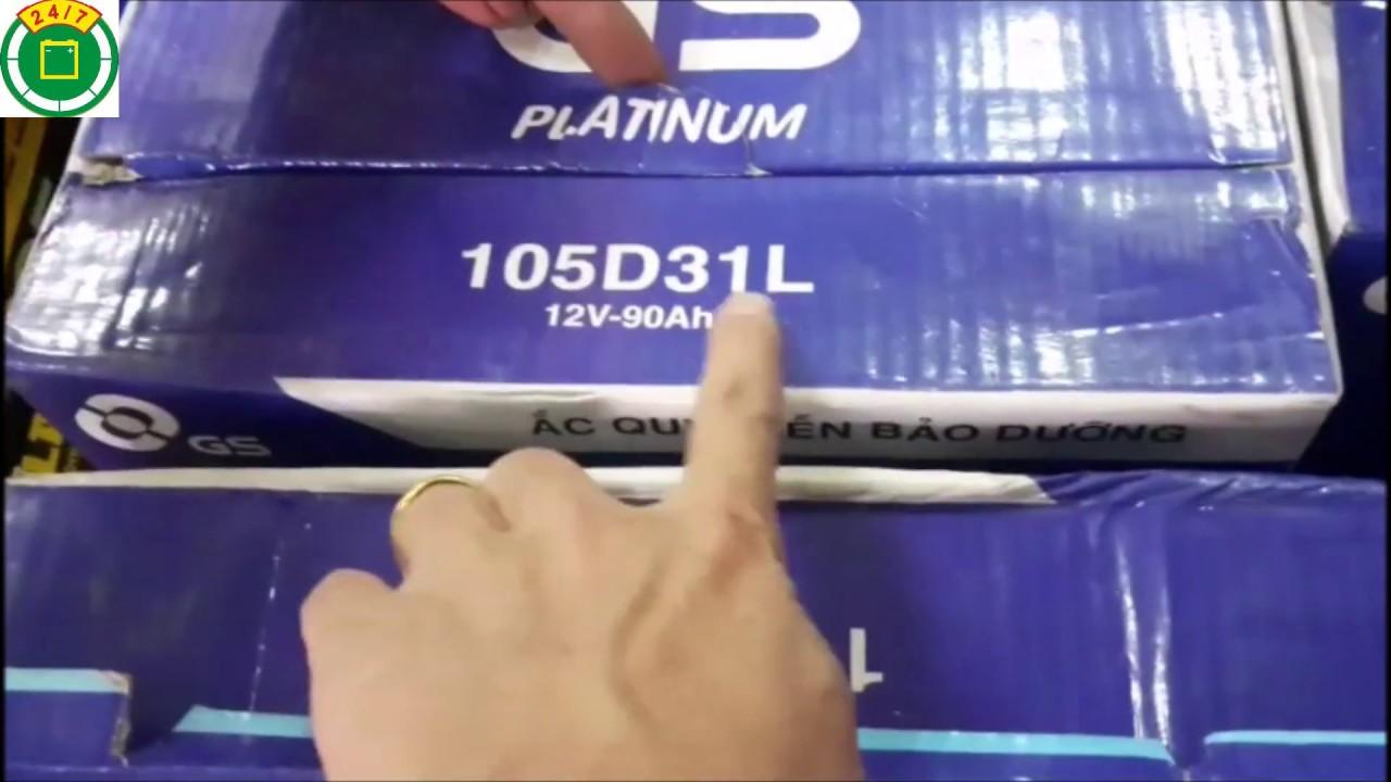 Ắc quy GS chính hãng | Đại lý ắc quy ô tô Hà Nội | GS Battery
