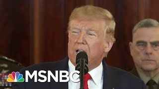 President Donald Trump Remains 'Relentlessly Obsessed' With Obama | Morning Joe | MSNBC