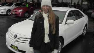 Virtual Video Walk around of a White 2011 Toyota Camry at Titus Will Toyota Used