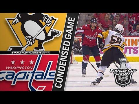 04/29/18 Second Round, Gm2: Penguins @ Capitals