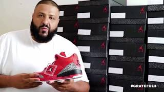 dj khaled sneakerhead