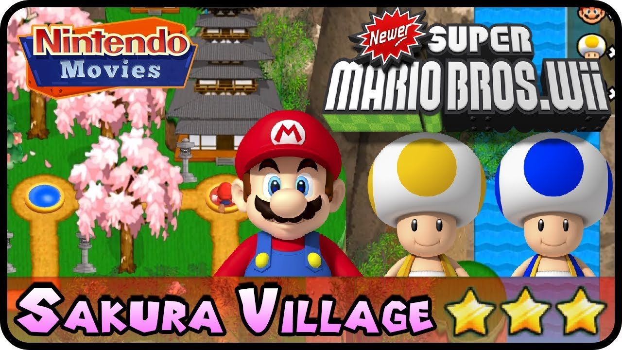 how to download newer super mario bros wii